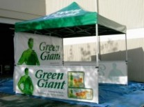 Ez Up Pop Up Advertising Tents