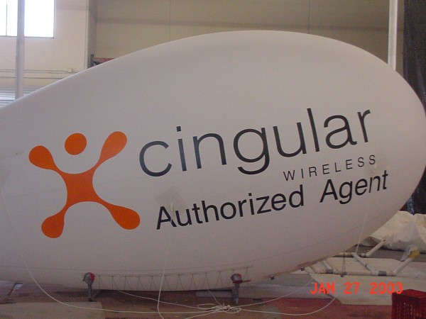 Inflatable Advertising Blimps Canada Ad Balloons