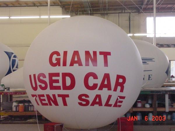 Auto Sphere Balloon