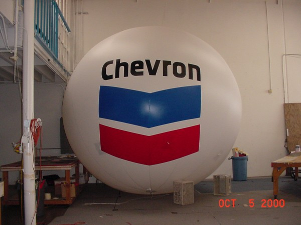 Chevron Helium Balloon