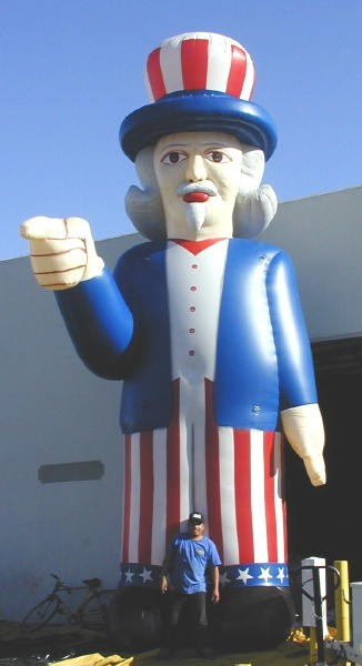 Uncle Sam Custom Balloon