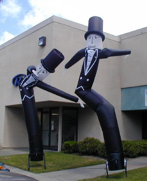 Tuxedo Dancer